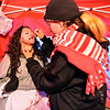 Frightmare Compound actor Angelica Garces prepares to get 3D blood make-up by artist Genea Godbold  before the haunted house opens on Friday night.<br /> October 5, 2012<br /> staff photo/ David R. Jennings