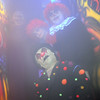Clown Little Lonie, front, poses with other scarey clowns in the House of Darkness at the Frightmare house at 108th and Olde Wadsworth on Saturday.<br /> October 15, 2011<br /> staff photo/ David R. Jennings