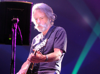 Furthur's Bob Weir  playing at  the opening night at the 1stBank Center on Friday.  March 5, 2010 Staff photo/David R. Jennings