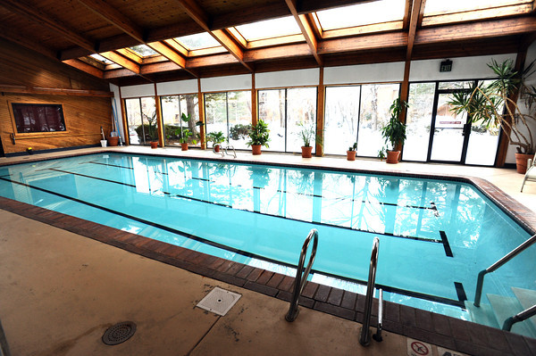 "The pool and clubhouse in the  Gold Run apartment complex in Boulder.<br /> For a video of Pilling showing off his nice living quarters go to  <a href=""http://www.coloradodaily.com"">http://www.coloradodaily.com</a><br /> Photo by Paul Aiken"