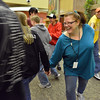 Group leader Lois  Grodsky participates in a game during Game Night at the Derda Recreation Center on Saturday.<br /> January 19, 2013<br /> staff photo/ David R. Jennings