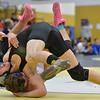 Erie's  Brandon Wetsch, right, wrestles Platte Valley's Austin Walters in the 132 lb. championship match during the Gary Daum Classic, Boulder Valley Invitational Wrestling Tournament at Frederick High School on Saturday.<br /> January 12, 2013<br /> staff photo/ David R. Jennings