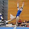 Broomfield's Melanie Stelling  is injured while making a landing for her floor routine during the Broomfield Invitational Gymnastics Meet at Mountain Range High School on Saturday.<br /> September 29, 2012<br /> staff photo/ David R. Jennings
