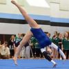 Broomfield's Monica Hoffman  performs her floor routine during the Broomfield Invitational Gymnastics Meet at Mountain Range High School on Saturday.<br /> September 29, 2012<br /> staff photo/ David R. Jennings