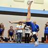 Broomfield's Monica Hoffman  performs her floor routine during the Broomfield Invitational Gymnastics Meet at Mountain Range High School on Saturday.<br /> September 29, 2012<br /> staff photo/ David R. Jennings