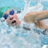 Niwot's Marjorie Driscoll swimming in the 100 yard freestyle during the state 4A girls swimming finals on Saturday at the Veterans Memorial Aquatic Center.<br /> February 9, 2013<br /> staff photo/ David R. Jennings