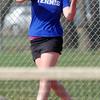 Dayna DeMeritte Broomfield returns the ball to Glenna Gee-Taylor, Centaurus during the #1 singles match on Thursday at Centaurus.<br /> April 5, 2012 <br /> staff photo/ David R. Jennings