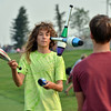Jamie Tucker-Foltz, 15, left, juggles with Daniel Kreizberg, 15, during Broomfield's Great American Picnic at the Broomfield County Commons Park on Wednesday.<br /> <br /> JJuly 4, 2012<br /> staff photo/ David R. Jennings