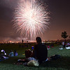 People filled the 300 acres of  Broomfield County Commons Park on Wednesday to watch the fireworks display and join Broomfield's Great American Picnic.<br /> <br /> JJuly 4, 2012<br /> staff photo/ David R. Jennings