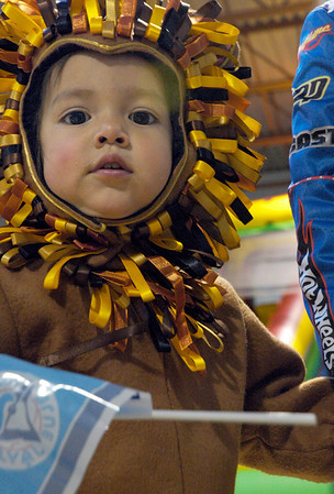 Maelen Vandam at the Great Pumpkin Festival at the Broomfield Community Center on Saturday.<br /> October 31, 2009<br /> Staff /Dylan Otto Krider