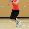 Karen Hopley jumps over a pumpkin while exercising  during the Great Pumpkin Workout on Wednesday at the Derda Recreation Center.<br /> October 26, 2011<br /> staff photo/ David R. Jennings