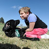 Anna Nicodemus, 11, plays with  Bonita for the Puppy Guide Dog organization at Community Park.<br /> <br /> April 6, 2012 <br /> staff photo/ David R. Jennings