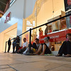 People wait in line for the opening of the new H&M store on Thursday at FlatIron Crossing mall.<br /> August 23, 2012<br /> staff photo/ David R. Jennings