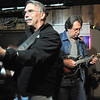 BE1125JAM02<br /> Canyon  Creek band members John Good, left, guitar, and Rick Gottschalk, mandolin, play during Wednesday's Hammer Jam at Hair of the Dog Tavern.  The open mic night features individuals and bands who want to test their musical talents.<br /> November 18, 2010<br /> staff photo/David R. Jennings
