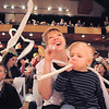 "Amy Tabor and her son Cody, 3, blow noisemakers to celebrate the new year during the Happy Noon Year celebration at the Broomfield Auditorium on Saturday. <br /> <br /> More photos please see  <a href=""http://www.broomfieldenterprise.com"">http://www.broomfieldenterprise.com</a><br /> December 31, 2011<br /> staff photo/ David R. Jennings"