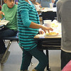 Emerald Elementary School 2nd grader Ilian Arellano eats her healthy snack food the class prepared during the Healthy Learning Paths program by Dr. Chris Marchioni on Tuesday.<br /> <br /> October 20, 2009<br /> Staff photo/David R. Jennings