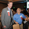Craig Boccard, left, and John Bosio at the Broomfield Community Foundation's Heart of Broomfield awards ceremony at the Omni Interlocken Resort Hotel on Monday.<br /> <br /> April 18, 2011<br /> staff photo/David R. Jennings
