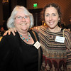 Carol Norcross and Lauri Skidmore at the Broomfield Community Foundation's Heart of Broomfield awards ceremony at the Omni Interlocken Resort Hotel on Monday.<br /> <br /> April 18, 2011<br /> staff photo/David R. Jennings