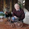 Joseph Mazzola, Heart of Broomfield Philanthropic winner, poses  at his home in Pony Estates. <br /> <br /> March 24, 2011<br /> staff photo/David R. Jennings