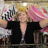Carina Martin, Heart of Broomfield Angel award, looks through cloths on racks at A Precious Child.<br />  <br /> <br /> March 29, 2011<br /> staff photo/David R. Jennings
