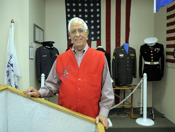 Bob Davis senior winner of Heart of Broomfield poses at the Broomfield Veterans Memorial Museum.<br /> April 7, 2011<br /> staff photo/David R. Jennings
