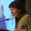 Colleen Sawyer, Arts Award, speaking at the Heart of Broomfield Awards ceremony with the Broomfield Community Foundation at the Omni Interlocken Resort Hotel on Monday.<br /> <br /> March 1, 2010<br /> Staff photo/David R. Jennings