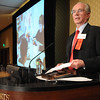 Roger T. Berg, Senior Award, speaking at the Heart of Broomfield Awards ceremony with the Broomfield Community Foundation at the Omni Interlocken Resort Hotel on Monday.<br /> <br /> March 1, 2010<br /> Staff photo/David R. Jennings