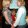 Ashley Lind, left, and Heidi Thomas at the Heart of Broomfield Awards ceremony with the Broomfield Community Foundation at the Omni Interlocken Resort Hotel on Monday.<br /> <br /> March 1, 2010<br /> Staff photo/David R. Jennings