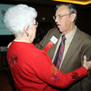 Betty Calvin, left, and John Atkinson at the Heart of Broomfield Awards ceremony with the Broomfield Community Foundation at the Omni Interlocken Resort Hotel on Monday.<br /> <br /> March 1, 2010<br /> Staff photo/David R. Jennings