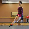 Meghan Doherty, 18, performs a dance during rehearsal at Taps 'n' Toes Dance Studio for the Heritage Irish Stepdancers performance at the Audi March 10th.<br /> March 2, 2013<br /> staff photo/ David R. Jennings