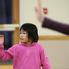 Marisa Emoto, 8, makes a move with her hand and arm during the7-9 year old Hip Hop dance class on Wedensday at the Broomfield Community Center. <br /> <br /> January 06, 2010<br /> Staff photo/David R. Jennings