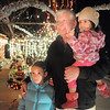"Rick Jefferies with his grand daughters Avery Jefferies, 7, left, and Alia, 2, look at Kim Weibert's holiday lighting display at 1188 Clubhouse Drive.<br /> More photos please see  <a href=""http://www.broomfieldenterprise.com"">http://www.broomfieldenterprise.com</a><br /> December 9, 2011<br /> Staff photo/ David R. Jennings"