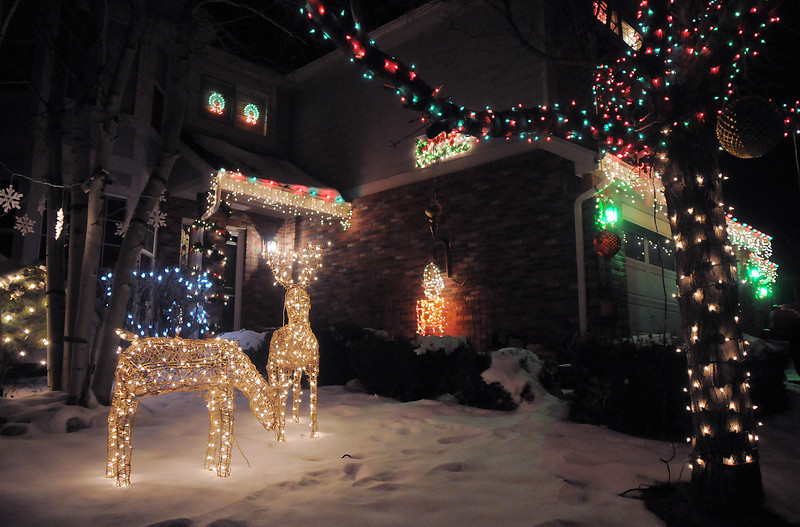 "The Holiday lighting display at 1100 Larch Ct.. <br /> More photos please see  <a href=""http://www.broomfieldenterprise.com"">http://www.broomfieldenterprise.com</a><br /> December 8, 2011<br /> Staff photo/ David R. Jennings"