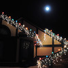 "The moon shines over the holiday lighting display at 13920 Tincup Circle.<br /> More photos please see  <a href=""http://www.broomfieldenterprise.com"">http://www.broomfieldenterprise.com</a><br /> December 8, 2011<br /> Staff photo/ David R. Jennings"