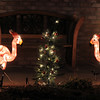 Pink flamingos add to the holiday spirit at 1241 Dover Ct. for the Dover Court lighting competition. <br /> December, 2010<br /> staff photo/David R. Jennings