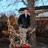 Rick Hill stands next to a tree he estimates has 15,000 lights for his display at 4755 128th Place.<br /> December, 2010<br /> staff photo/David R. Jennings