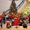 BE1205betree18<br /> The Suzuki Violin Students play in the lobby of the Broomfield City and County Building during the Holiday Tree Lighting Ceremony on Friday.<br /> <br /> December 3, 2010<br /> staff photo/David R. Jennings