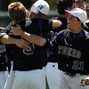 SP30PRPBASEBALL3A_MM_05-2-9.jpg Holy Family celebrate after defeating Eaton High in the 3A Colorado State Baseball Championship game at Butch Butler Field in Greeley, Colo. on Saturday 05/29/10.  The game was called after the 5th inning when Holy Family went up 11-1 to clinch the victory.  (SPECIAL TO THE POST/ MATT MCCLAIN)