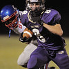 Chuck Howedel, Holy Family, runs downfield past Centaurus during Friday's game at Michael G. Gabriel Stadium.<br /> September 23, 2011<br /> staff photo/ David R. Jennings