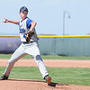 Peak to Peak's pitcher Brian Goedde throws against Holy Family during Friday's game at Holy Family.<br /> May 04, 2012 <br /> staff photo/ David R. Jennings