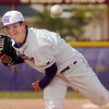 Holy Family's Ryan Silva throws agianst Faith Christian during Saturday's double header at Holy Family.<br /> April 16, 2011<br /> staff photo/David R. Jennings