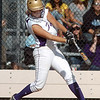 Holy Family's Nicole Gardon hits the ball from Berthoud during the state softball tournament at the Aurora Sparts Park on Friday.<br /> October 21, 2011<br /> staff photo/ David R. Jennings