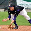 Devlin Granberg, Holy Family, fields a ground ball from Eaton during the state 3A semi-final game at Butch Butler Field in Greeley on Friday.<br /> <br /> May 25, 2012 <br /> staff photo/ David R. Jennings