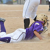 Holy Family's Moriah turkey slides safely to third base against Valley during Saturday's state semi final softball championship game at Aurora Sports Park.<br /> <br /> October 20, 2012<br /> staff photo/ David R. Jennings