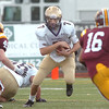 Holy Family's David Sommers runs downfield against Windsor during Saturday's first round state 3A playoff game at H. J. Dudley Field in Windsor.<br /> <br /> November 11, 2011<br /> staff photo/ David R. Jennings