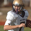 Holy Family's quarterback David Sommers carries the ball downfield against Windsor during Saturday's first round state 3A playoff game at H. J. Dudley Field in Windsor.<br /> <br /> November 11, 2011<br /> staff photo/ David R. Jennings