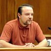 Zach Davis, a neighbor of the Abeyta family, testifies for the defense on Thursday.<br /> The defense rested in the trial of Joseph Abeyta for the murder of  William Andrews on October 22, 2009.<br /> Cliff Grassmick / October 22, 2009