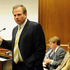 Boulder County District Attorney, Stan Garnett, talks about the Abeyta case on Wednesday. The trial of Joseph Abeyta for the murder of  William Andrews continued on October 21, 2009 with the testimony of defense witnesses.<br /> Cliff Grassmick / October 21, 2009