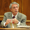 Richard Post, an expert defense witness, talks about weapons and ballistics. <br /> The trial of Joseph Abeyta for the murder of  William Andrews continued on October 21, 2009 with the testimony of defense witnesses.<br /> Cliff Grassmick / October 21, 2009