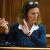 "ABEYTA05<br /> During Joseph Abeyta's murder trial on Wednesday, Boulder resident Donna Hamann testifies about the ""explosions"" that she heard outside her house on January 23, 2009.<br /> <br /> Photo by Marty Caivano/Camera/Oct. 14, 2009"